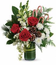 Teleflora's Festive Pines Bouquet
