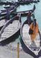 Bangladesh  Bangladesh water taxis.  Photo © 1995  Maura J. Fulton; The International Calendar Project