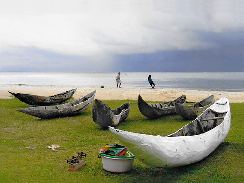 Madagascar  Water's edge.  Photo © 2007  Angela Keller; The International Calendar Project