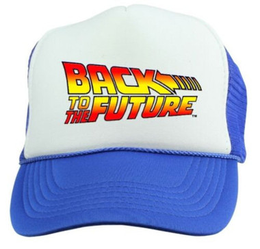Back To The Future Trucker Hat