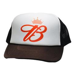 Budweiser Crown Trucker Hat