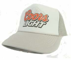 Coors Light Beer Trucker Hat