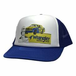 Dale Earnhardt Wrangler Racing Trucker Hat