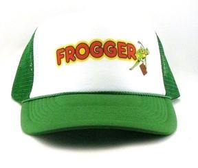 Frogger Trucker Hat