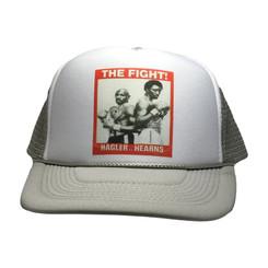 Hagler Vs. Hearns Trucker Hat