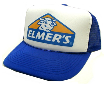 As shown in photo then color of the hat Royal blue/white front