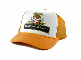 Miller Beer Eagle Trucker Hat