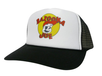 Bazooka Joe Trucker Hat Mesh Hat Snapback Hat