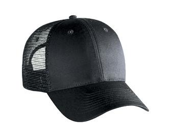 Black 6 Panel Hat 6895d2961b7