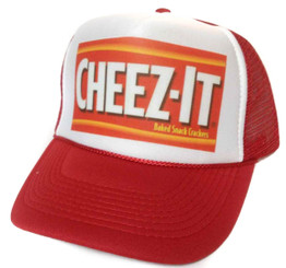 Cheez-it Trucker Hat Mesh Hat Snapback Hat