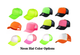 Neon Hat Color Options   be sure to click save