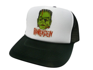 As shown in photo then color of the hat . ex. Black/white front