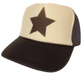 Gravity Falls brown star Trucker Hat Mesh Hat Snapback Hat