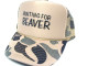 As shown in photo then color of the hat . ex. camoflage/tan front