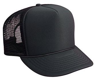 SOLID BLACK MESH Hat 8da3bcfae9a