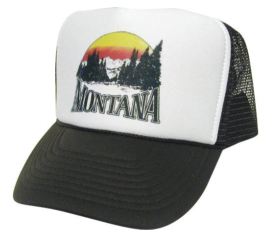 MONTANA Trucker Hat Mesh Hat Snapback Hat