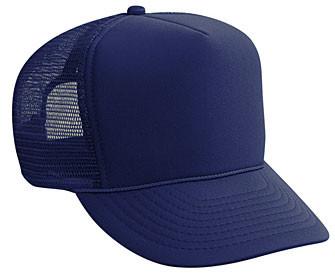 9420e6dd8 Navy Blue plain blank Trucker Hat Mesh Hat Snapback Hat