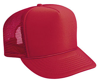 Red plain blank Trucker Hat Mesh Hat Snapback Hat. Price   7.99. Image 1 0773caec933