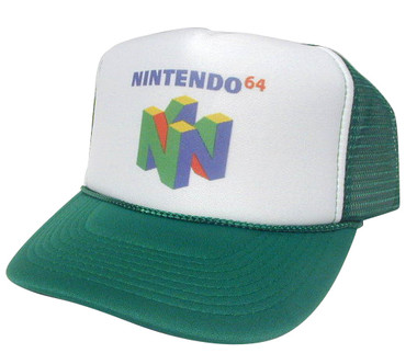Nintendo 64 As shown in photo then color of the hat . ex.Green/white front