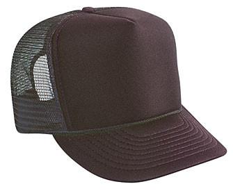 1972a492d5e Brown plain blank Trucker Hat Mesh Hat Snapback Hat. Price   7.99. Image 1