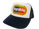 As shown in photo then color of the hat . ex. Black/white frontHat Color Options