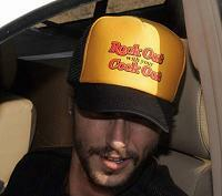 As shown in photo then color of the hat . ex. Black/Yellow front