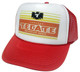 As shown in photo then color of the hat . ex.Red/white front