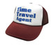 Time Travel Agent Hat, Trucker Hat, Mesh Hat, Snap Back Hat