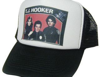 T J Hooker Hat, Trucker Hat, Mesh Hat, Snap Back Hat