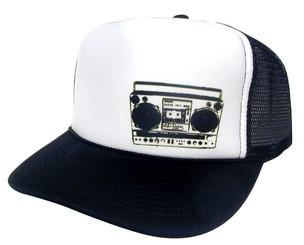 BOOM BOX Hat, Trucker Hat, Mesh Hat, Snap Back Hat