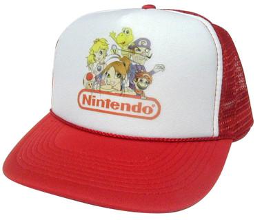 NINTENDO Hat, Trucker Hat, Mesh Hat, Snap Back Hat