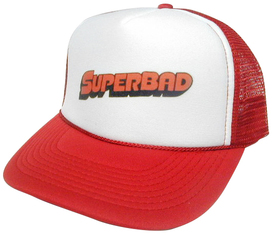 SUPERBAD Hat, Trucker Hat, Mesh Hat, Snap Back Hat