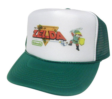 Legend of Zelda Hat, Trucker Hat, Mesh Hats, Snap Back Hats
