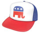 REPUBLICAN Party Hat, Political Party Hat, Trucker Hat Mesh Hat
