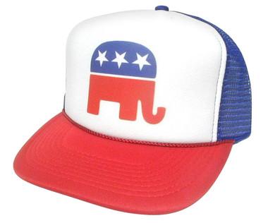 REPUBLICAN Party Hat, Political Party Hat, Trucker Hat Mesh Hat