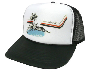 Hawaii Hat, Trucker Hat, Trucker Hats, Mesh Hat, Snap Back Hat
