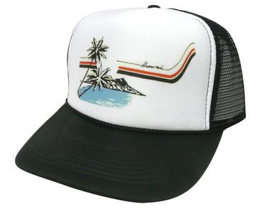 Hawaii Hat, Trucker Hat, Trucker Hats, Mesh Hat, Snap Back Hat