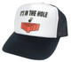 Beer Pong Hat, IT'S IN THE HOLE Hat, Trucker Hat, Mesh Hat