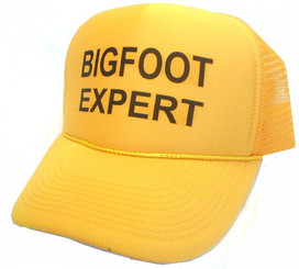 Bigfoot Expert Hat, Trucker Hat, Trucker Hats, Mesh Hats, Snap Back Hat by Hey! Hats