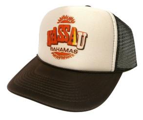 Nassau Bahamas Hat, Trucker Hat, Mesh Hat, Snap Back Hat