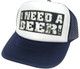 I Need a Beer Hat, Trucker Hats, Trucker Hat, Mesh Hat, Snap Back Hat