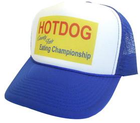 Hotdog Eating Championship Hat, Trucker Hats, Mesh Hats, Snap Back Hats, Funny Trucker Hats