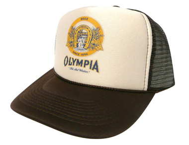 Olympia Beer Hat, Trucker Hats, Mesh Hat, Snap Back Hat