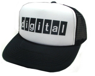 DIGITAL Hat, Trucker Hats, Mesh Hat, Snap Back Hat