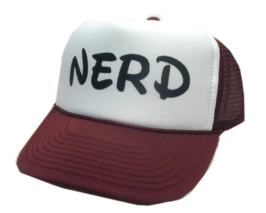 NERD Hat, Trucker Hat, Trucker Hats,  Mesh Hat, Snap Back Hat