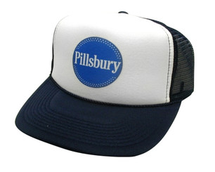 Pillsbury Hat, Trucker Hats, Mesh Hat, Snap Back Hat