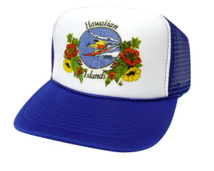 Hawaiian Islands Hat, Trucker Hats, Mesh Hats, Snap Back Hats
