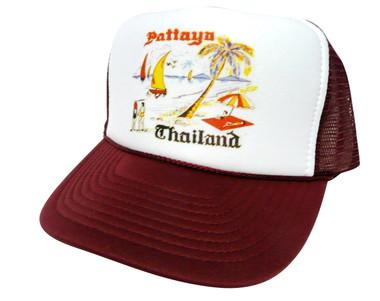 Thailand Vacation Hat, Trucker Hat, Mesh Hat, Snap Back Hat
