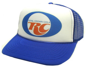RC Cola Hat, Trucker Hat, Mesh Hat, Snap Back Hat