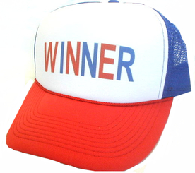 WINNER Hat, Trucker Hat, Trucker Hats, Mesh Hat, Snap Back Hat